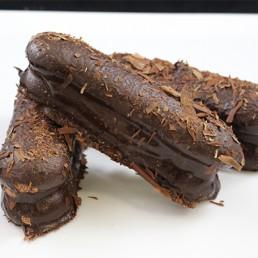Chocolade schuim bokkenpoot